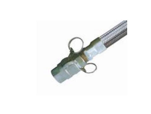 开启式快速接头金属软管