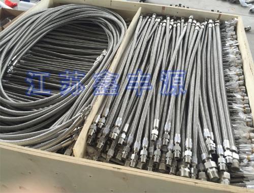 出口金属软管